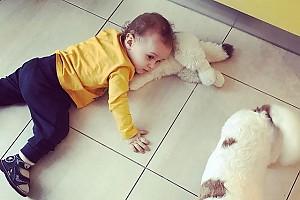 Юлия Костюшкина поделилась фотографией подросшего сына
