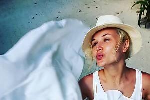 Полина Гагарина делится хорошим настроением