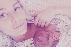 Первое фото Кати Гордон с новорожденным сыном