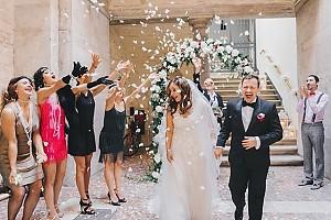 Кадр с итальянской свадьбы Андрея Гайдуляна