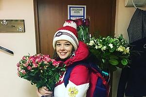 Довольная Катерина Шпица после спектакля