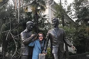 Юлия Топольницкая улетела в Сочи