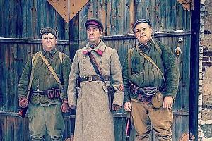 Андрей Мерзликин на съемках нового фильма