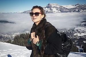 Неповторимая Рената Литвинова в Альпах