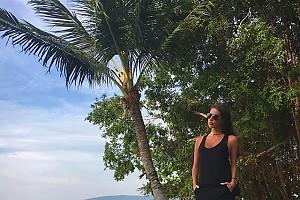 Кети Топурия и модный пляжный look