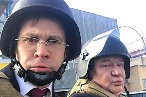 Павел Деревянко: в моде снова милитари