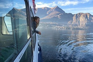 Дарья Мельникова улетела на озеро Комо