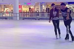ВИДЕО: Ираклий Пирцхалава показал свои первые шаги на льду