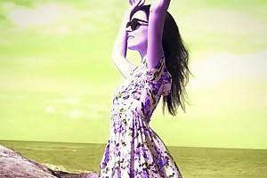 ВИДЕО: Прекрасная Ирена Понарошку на пляже