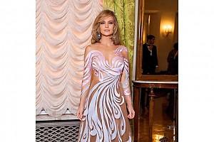 Очередное «голое» платье Натальи Ионовой