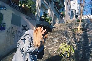 «Нет, не стыдно»: Саша Бортич улетела в Париж