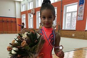 Дочка Ксении Бородиной порадовала маму медалью