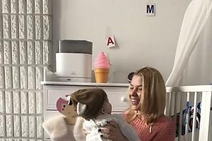 ВИДЕО:Дочке Олипиады сегодня исполнилось 7 месяцев