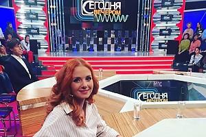 Лена Катина заглянула в гости к Малахову
