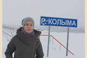 Ирина Лачина попала в лютый мороз