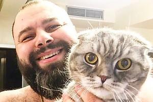 Максим Фадеев спас своего кота
