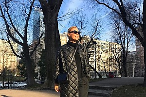 Елена Летучая улетела в Милан