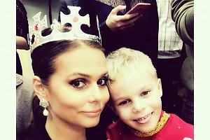 Ксения Новикова с любимым сыном