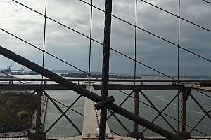 ВИДЕО: Ольга Шелест гуляет по Нью-Йорку