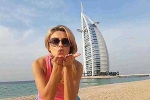 ВИДЕО: Екатерина Архарова отпраздновала Крещение в Дубае