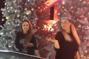 ВИДЕО: Юлия Началова и Анна Семенович начали отмечать Новый год