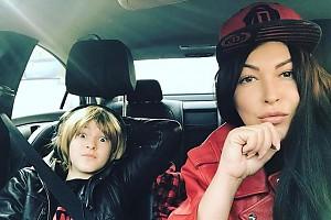 Ирина Дубцова провела выходной с любимым сыном