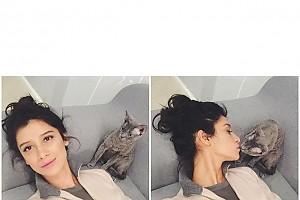 Равшана Куркова пропустила вечеринку из-за кота