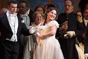 Непревзойденная Анна Нетребко на сцене театра Ла Скала