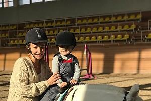 Татьяна Навка воспитывает настоящую спортсменку