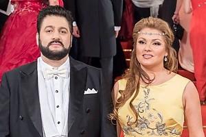 Идеальная пара: Анна Нетребко и Юсиф Айвазов на балу в Австрии
