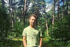 Валерий Сюткин сливается с природой