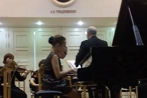 ВИДЕО: дочка Юлии Началовой выступила в консерватории