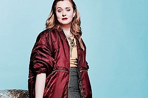 Анна Михалкова примерила модный молодежный образ