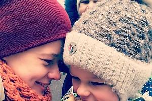 Сын Катерины Шпицы празднует Масленицу в детском саду