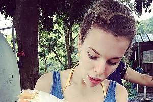 Анна Старшенбаум очарована новым другом