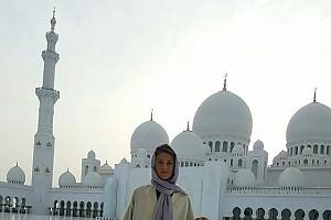 Екатерина Архарова съездила на экскурсию в Абу-Даби