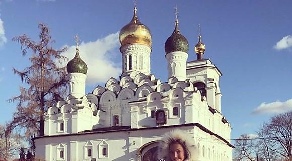 Анастасия Волочкова провела волшебные выходные с дочкой