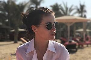 Елена Темникова провела отпуск в Эмиратах