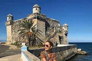 Ольга Орлова расслабляется на Кубе