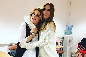 Зимние и уютные: Наталья Подольская и Юлианна Караулова