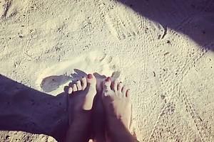 ВИДЕО: райский отдых Екатерины Андреевой на Мальдивах