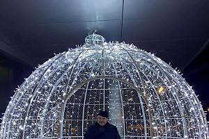 Евгений Петросян и его новогодний супер-шар