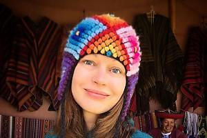 Ирина Безрукова набирается сил перед Новым годом в Перу