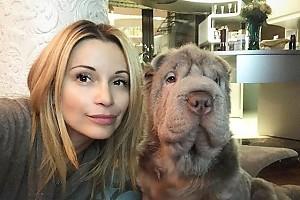 Ольга Орлова с любимым псом — Бруно
