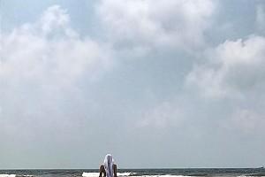 Оксана Фандера наслаждается отпуском в Индии