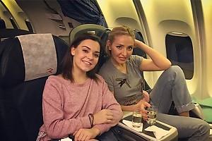 Две подружки: Татьяна Навка и Аделина Сотникова возвращаются с гастролей