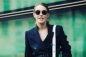 Ксения Собчак покоряет Неделю моды в Милане