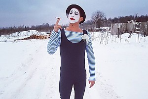 Михаил Башкатов на съемках