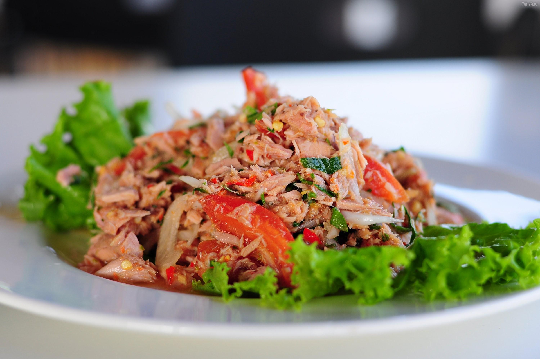 Блюда с тунцом