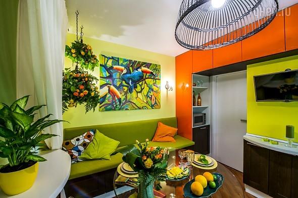 Кухня в стиле «Рио»